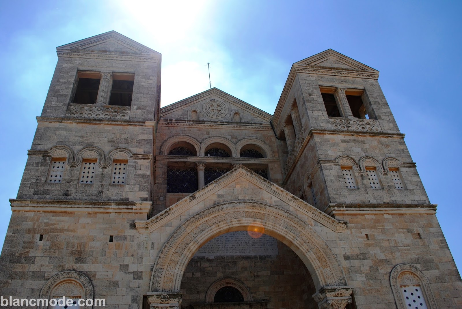 church of transfiguration on mount tabor