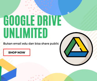 Jual Google Drive Unlimited