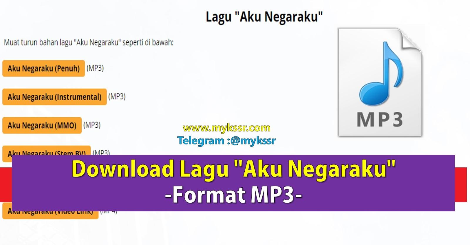 Download Lagu Aku Negaraku Format Mp3 Lirik Lagu Aku Negaraku Mykssr Com