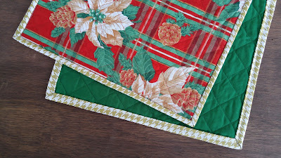 Ozark Christmas quilted table runners