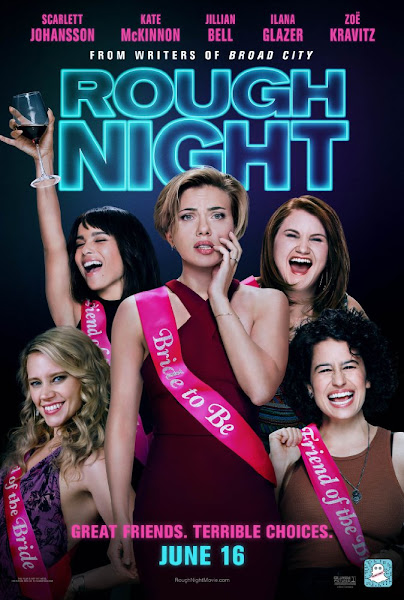 Poster of Rough Night 2017 Full-Movie-720p-English-BluRay ESubs Download