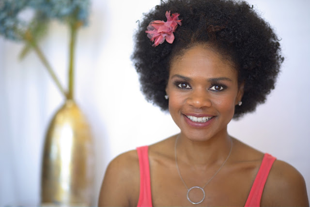 Actress Kimberly Elise talks natural hair and new hair product, Alchemy 27 on ClassyCurlies.com