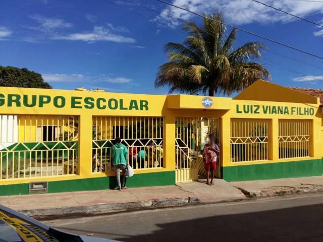 Gentio do Ouro - Grupo Escolar Luiz Viana é furtado