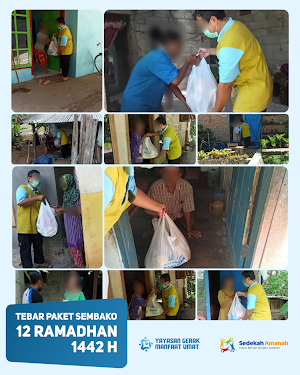 Penyaluran Sembako Ramadhan 1442H Tahap 4
