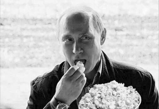 Main news thread - conflicts, terrorism, crisis from around the globe - Page 15 Putin%2BPopcorn