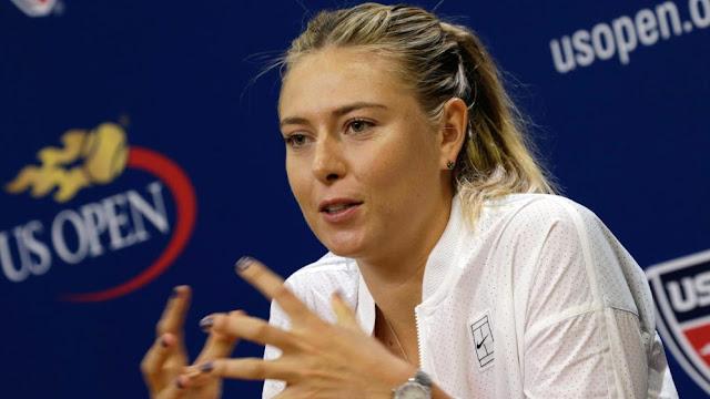 Maria Sharapova deja plantados a sus sponsors