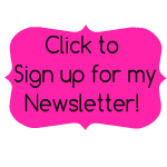 sign up for sew joy creations newsletter