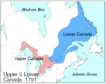 Colonial Quills: Upper and Lower Canada. Which One\'s Up?