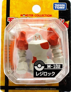 Regirock figure Takara Tomy Monster Collection M series