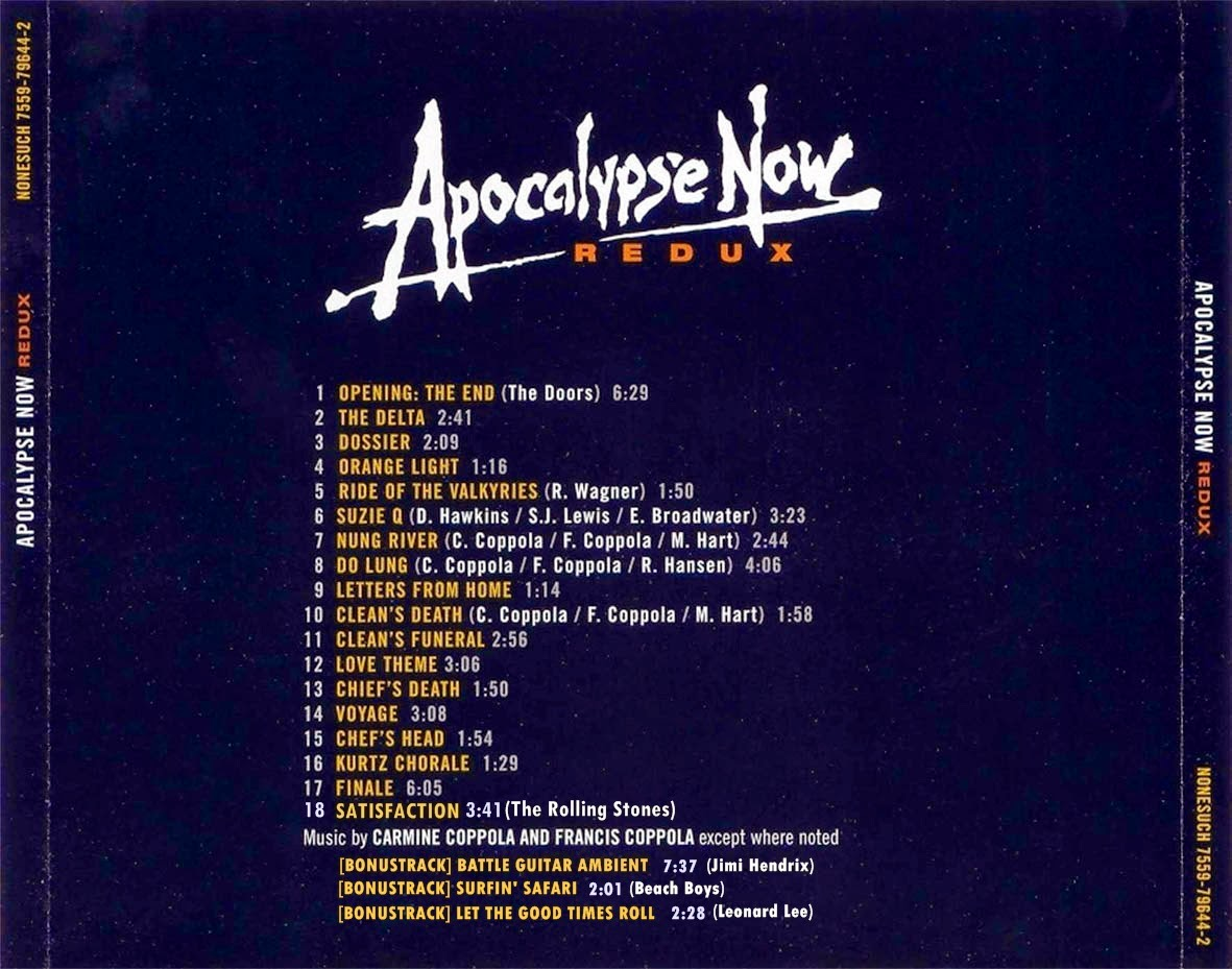 Apocalypse Now OST( ) - The Delta - YouTube