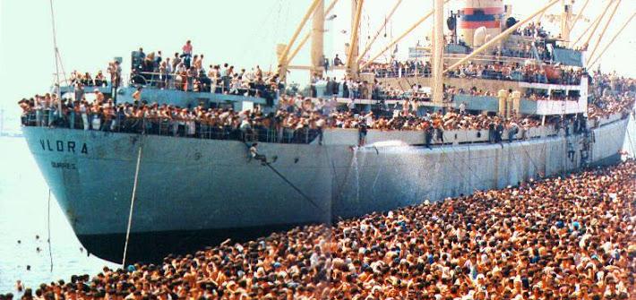 8 agosto 1991, il Vlora sconvolge Bari
