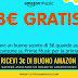 🎧 Ottieni un Buono Amazon di 3€ semplicemente ascoltando un brano musicale