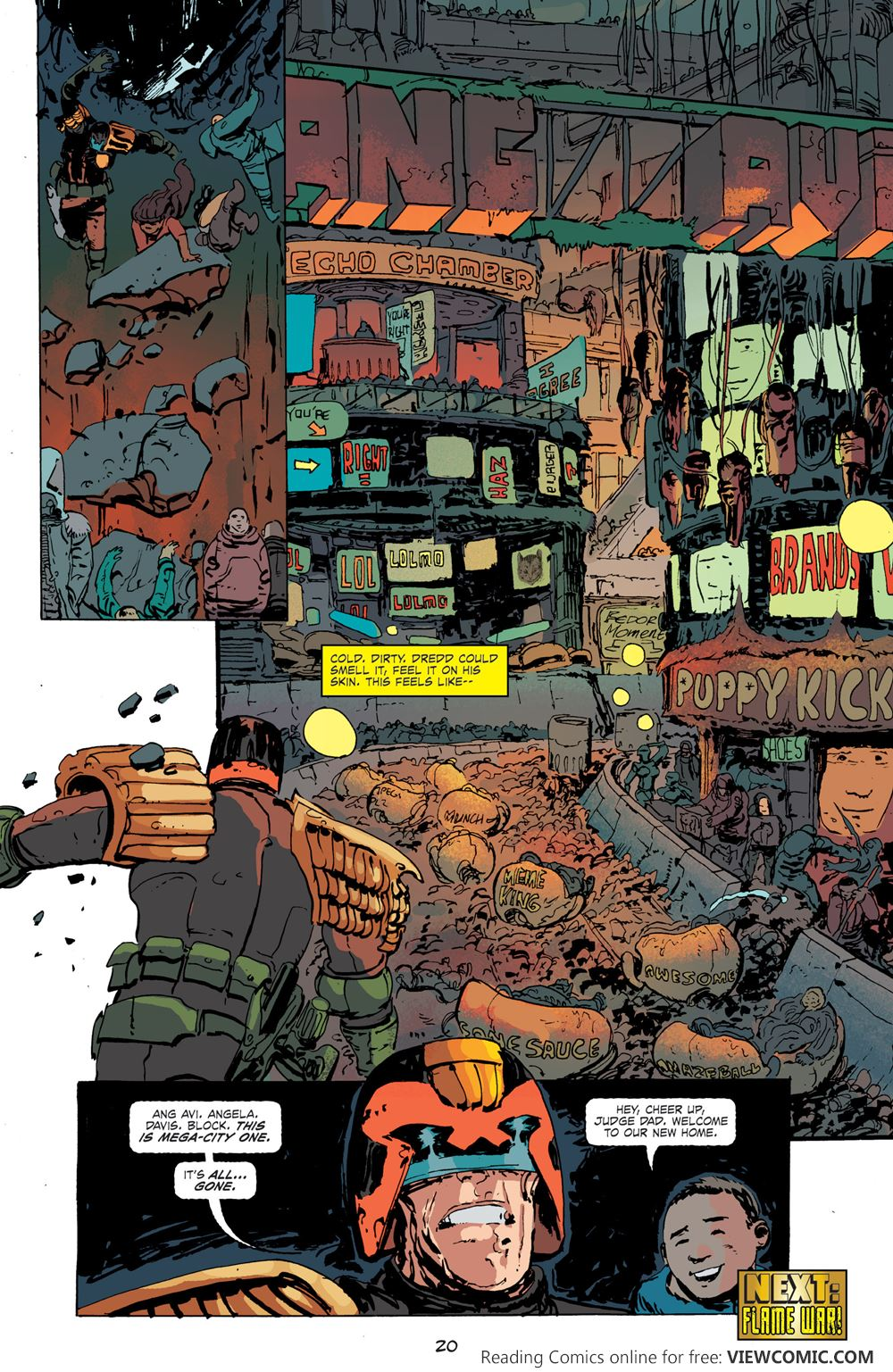 Comics pdf dredd judge