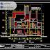 مخطط منزل 13x12 بتصميم جميل اوتوكاد dwg