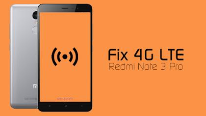 Cara Mengembalikan 4G Xiaomi Redmi Note 3 PRO Yang Hilang