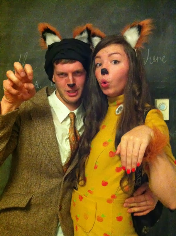 Bits Fantastic Mr Fox Couples Costume