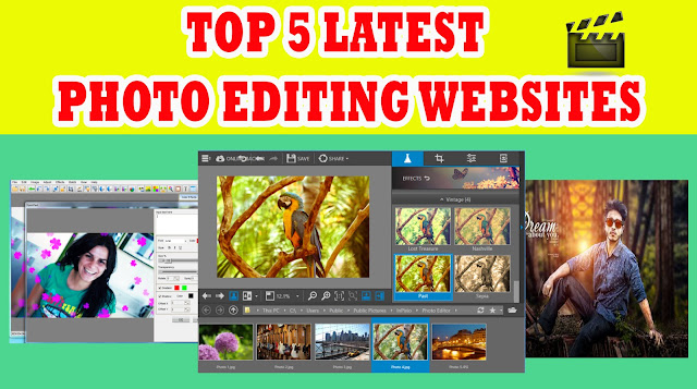 top 5 photo editing softwares