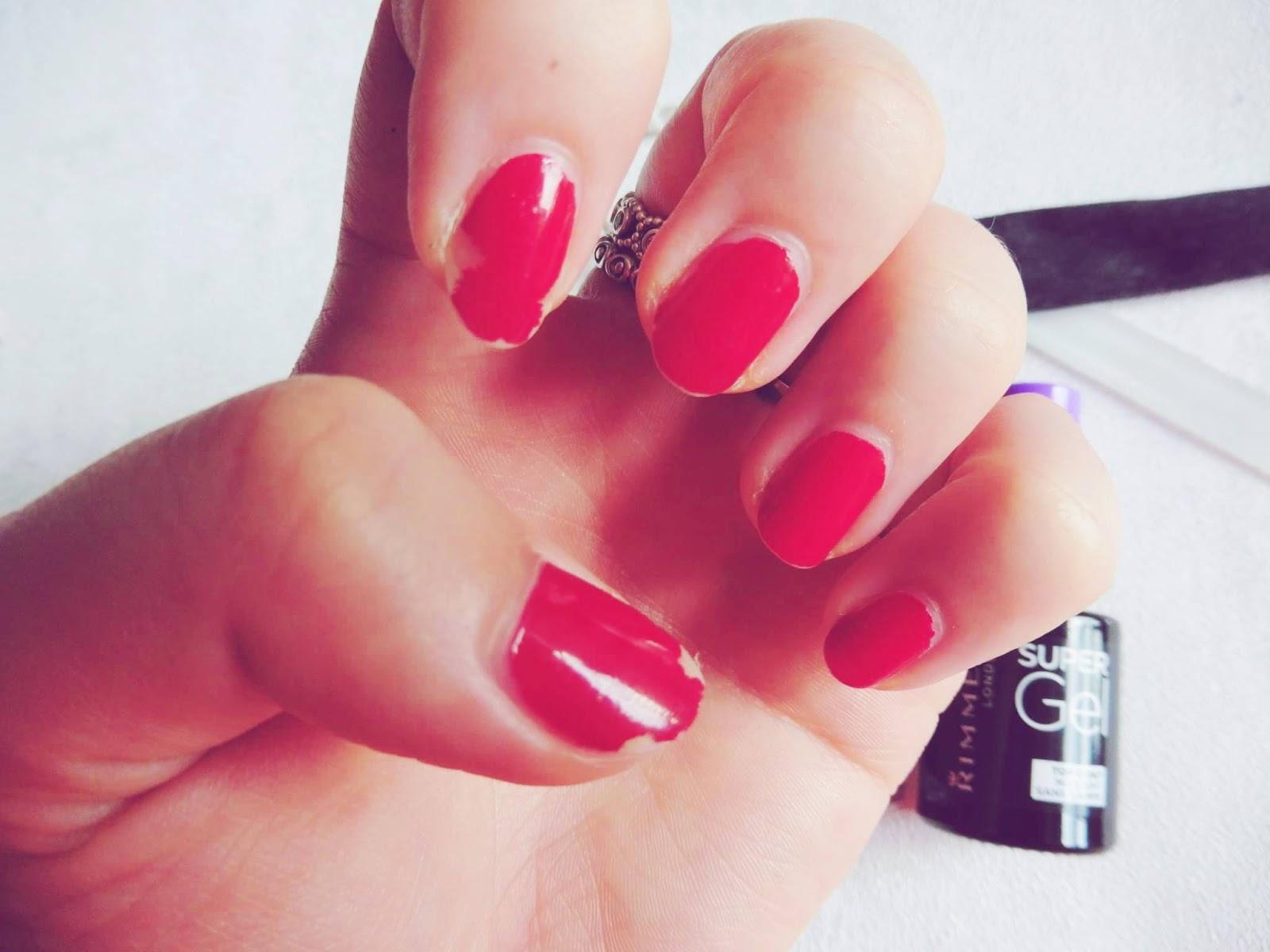 lebellelavie - The Rimmel Super Gel nail polish