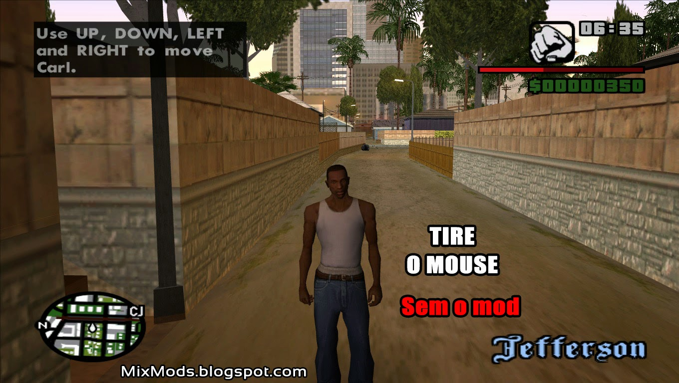 Widescreen Fix para GTA SA (corrigir widescreen) - | MixMods | Mods