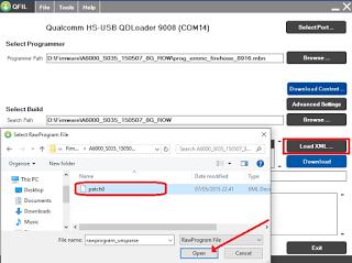 Cara Flashing Lenovo A1000 Bootloop 100% Berhasil Via QFIL