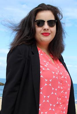 Portrait sur la Grande Plage de Biarritz