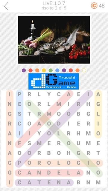 10x10 Crucipuzzle soluzione pacchetto 7 livelli (1-5)