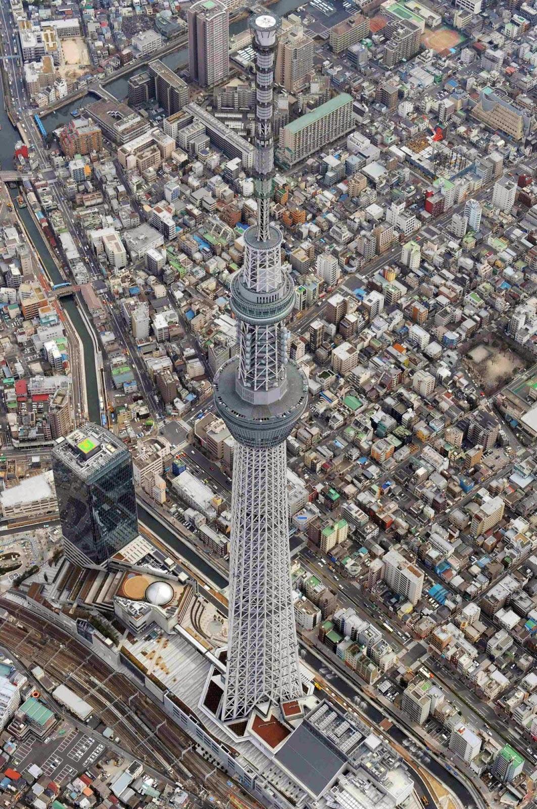 Descubre TU MUNDO Megatorre Tokyo Skytree  Arquitectura