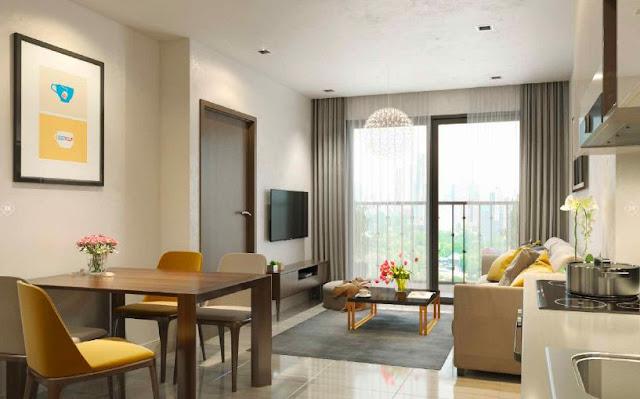 Căn hộ 2 phòng ngủ dự án Vincity Gia Lâm