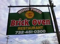 Brick Oven Restaurant sign