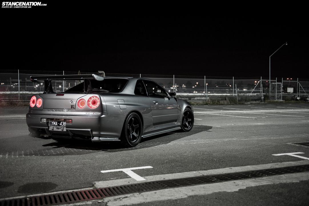 Nissan Skyline GT-R R34, kultowe auta, legendarne samochody, AWD, RB26DETT