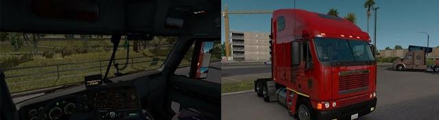 American Truck Simulator Freightliner Argosy Truck Download MODs
