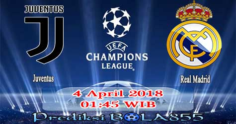 Prediksi Bola855 Juventus vs Real Madrid 4 April 2018