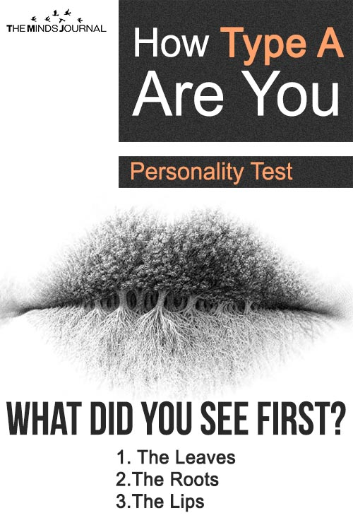 How Type A You Really Are? Visual Personality Test