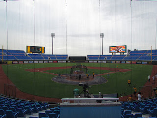 Home to center, Taoyuan International Baseball stadium