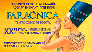 Faraonica Ballet Oriental | Teatro Colon