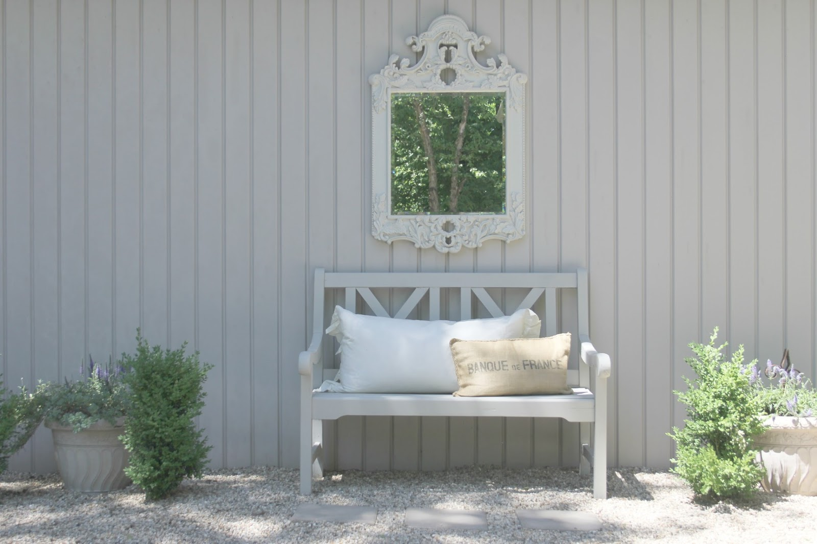 European farmhouse style and French Nordic cottage decor in our fixer upper - Hello Lovely Studio. Come see the renovation photos in Before & After: European Country Style Fixer Upper.