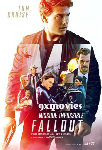 Mission Impossible – Fallout 2018 Dual Audio Hindi 720p HDCAM 850mb