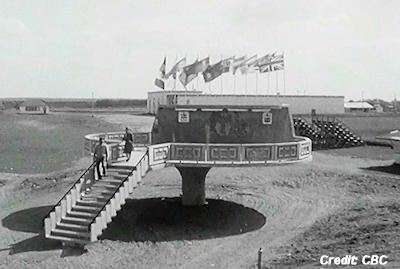 UFO Landing Pad in Alberta