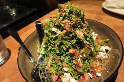 Blue Label Pizza & Wine, waldorf salad
