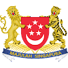 Logo Gambar Lambang Simbol Negara Singapura PNG JPG ukuran 100 px
