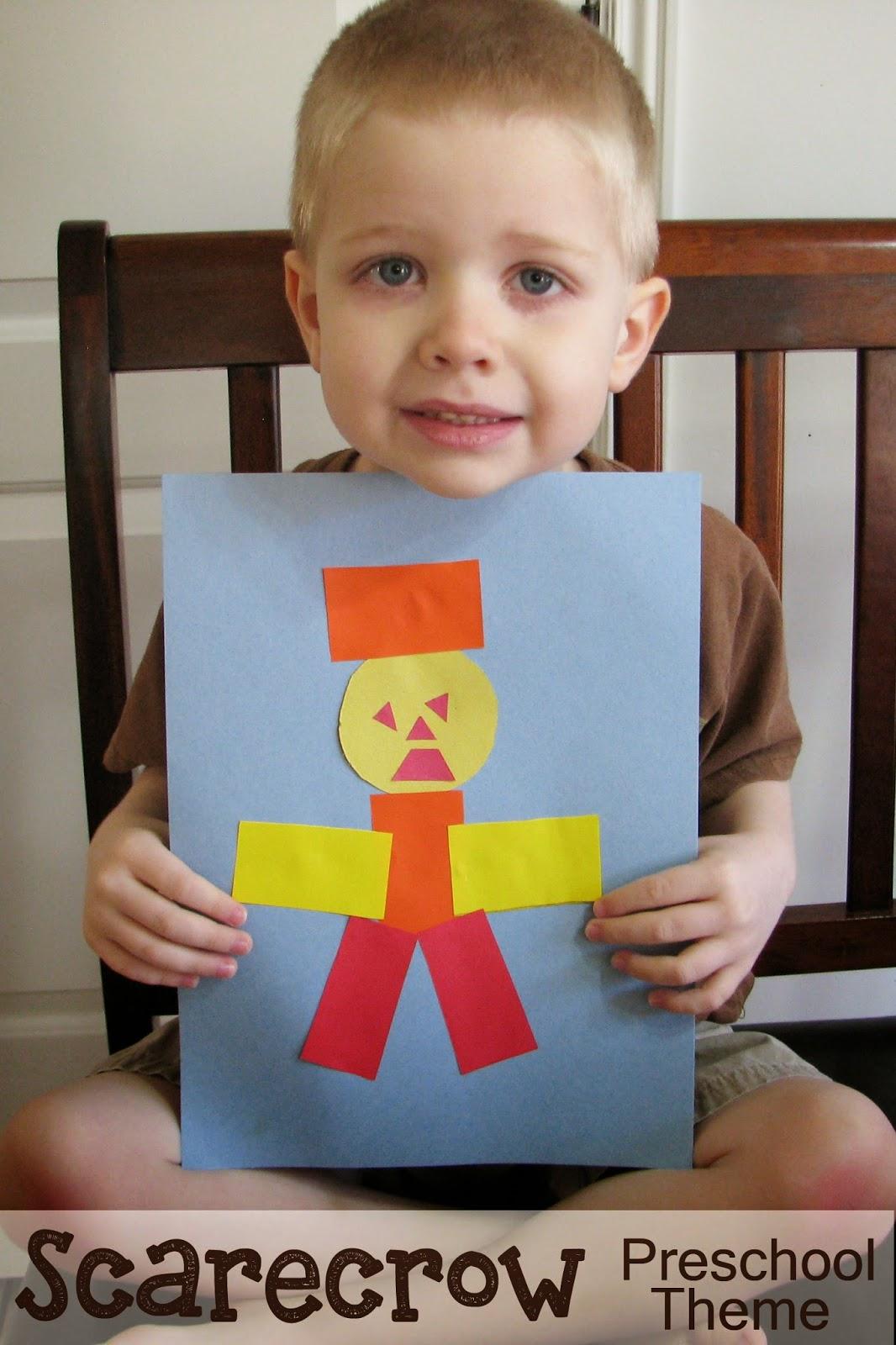 Mommy S Little Helper Scarecrow Preschool Theme