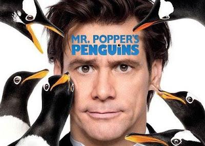 Los pingüinos del Sr. Popper Película