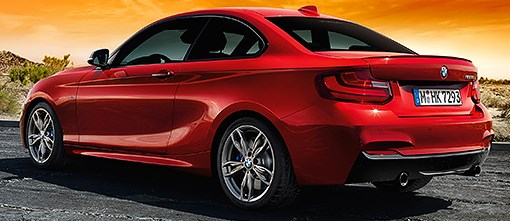 BMW 2 Series Coupé color red