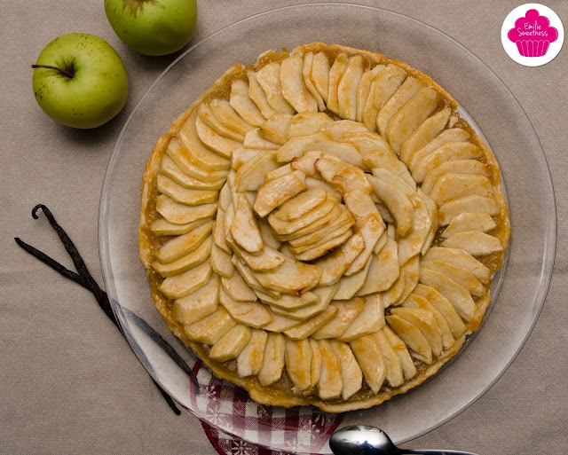 Tarte fine aux pommes, pâte sabléee