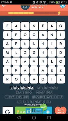 WordBrain 2 soluzioni: Categoria Scuola (7X7) Livello 4