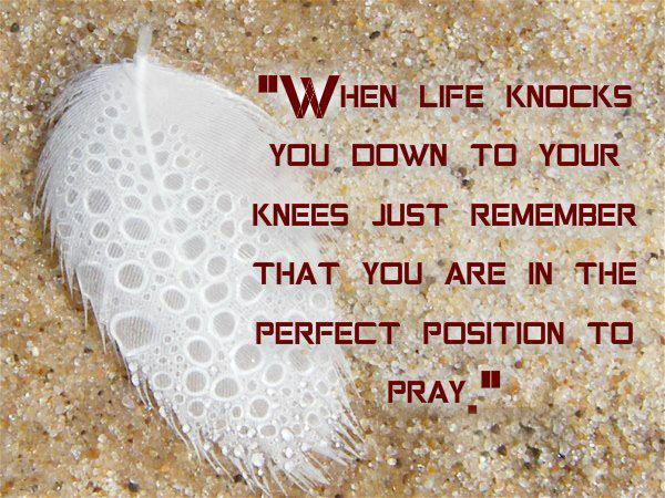 When life knocks you down | Love Quotes And Covers