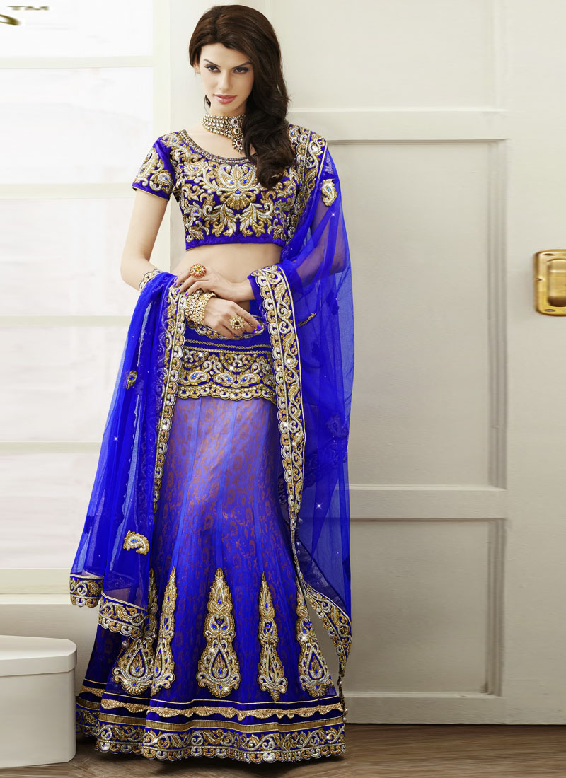 Royal Blue Indian Wedding Dresses Indian Wedding