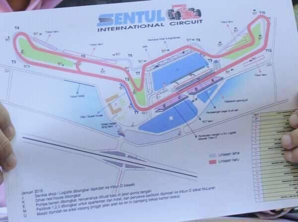 Renovasi Sentul, Dipastikan MotoGP Bisa Dilihat Dari Jendela Kamar Hotel