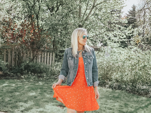 Easy Outfit Formula: Sundress with Sneakers