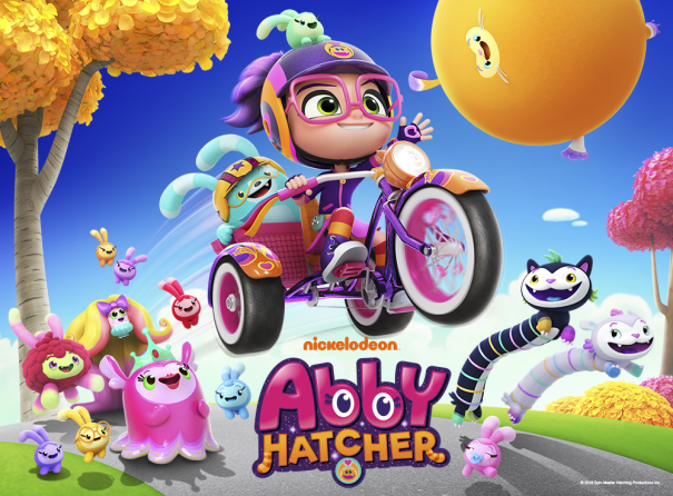 NickALive!: Nick Jr  Portugal Premieres 'Abby Hatcher'